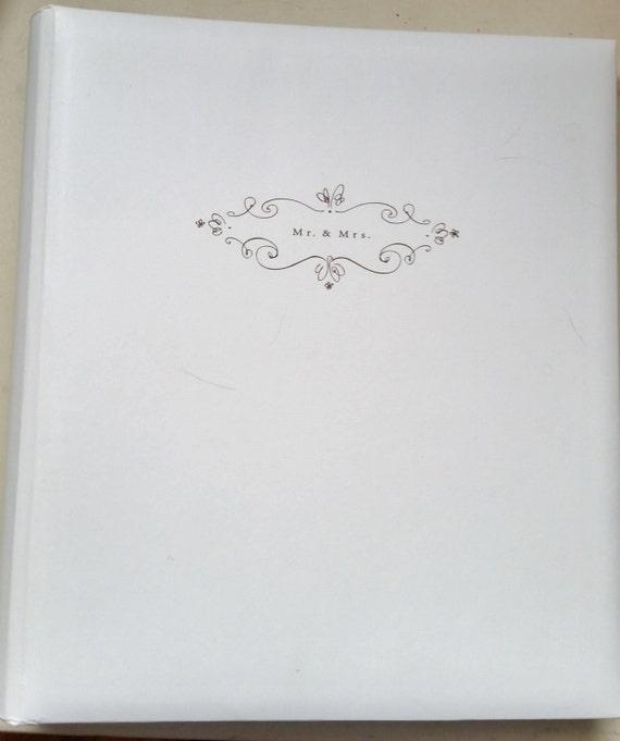 Hallmark Wedding Album: Hallmark Wedding Memories Blank Scrapbook Photograph Album