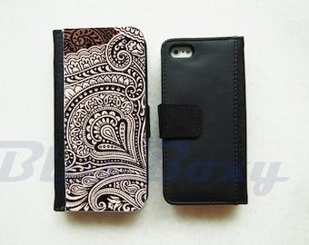 Vintage Pattern Case - iPhone X, iPhone 8/8 Plus, iPhone 7, iPhone 6, iPhone 6s, iPhone 6 Plus, 6s Plus, iPhone 5/5s, iPhone 4/4s, Flip Case