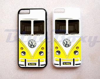 Mini Bus Yellow iPhone 8, iPhone X, iPhone 7, iPhone 7 Plus, iPhone 6 Case, iPhone 6s, iPhone 6 Plus, iPhone 5/5s, iPhone 4/4s, iPhone Cover