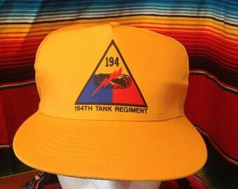 194th Tank Regiment hat