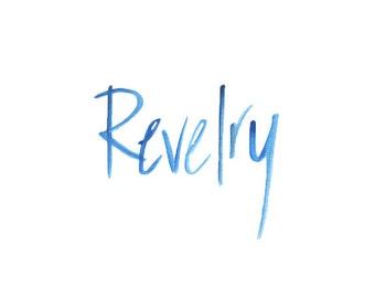 Revelry Watercolor Print