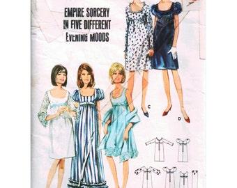 Butterick Sewing Pattern 4163 Empire Dress  Size:  10