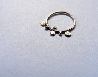 NEW!!! silver NOSE RING (: silver nose hoop, nose hoop, nose ring, sterling nose hoop, silver nose ring, body jewelry, tribal nose hoop