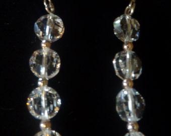 "BEEutiful Swarovski Crystal Wedding Earrings -- ""Kathy"""