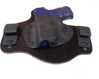 IWB Hybrid Leather and Kydex Holster for Spingfield Armory XDs