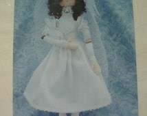 """Diana - An Elegant 18"""" Doll Pattern from Hannily Patterns Designed by Barbara Roberts  Full Instructions  MINT UNCUT Pattern dated 1995"""