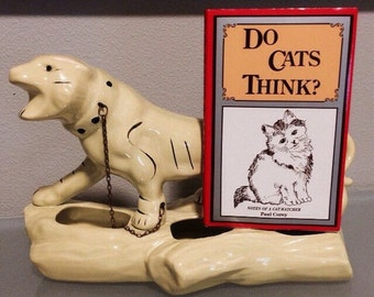 "Vintage 1977 ""Do Cats Think"" Book by Paul Corey"