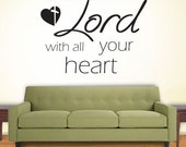 Trust In The Lord  | Wall Quote Decals