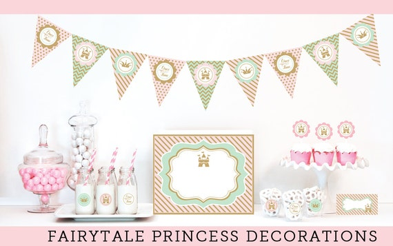 Items similar to 1st birthday ideas for girls princess 1st for 1st birthday decoration packages