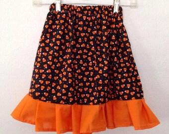 Candy Corn Girl's Skirt