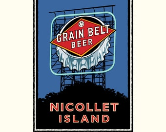 Landmark MN   Nicollet Island by Mark Herman
