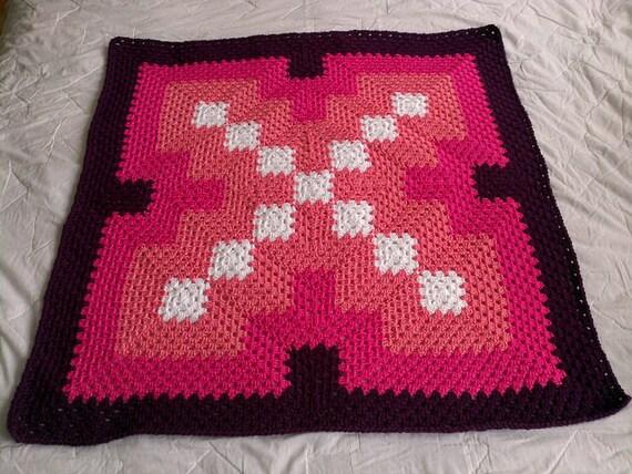 Crochet blanket pattern pdf marks the spot granny