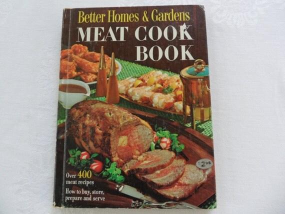 Vintage better homes and garden meat cookbook by - Vintage better homes and gardens cookbook ...