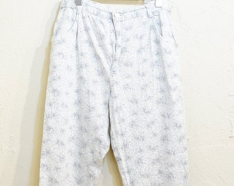 Vintage Floral Pants (017)