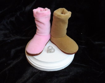 UGG Boot Cake Topper - Perfect for the laid back and casual bride and groom!