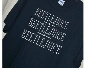BEETLEJUICE BEETLEJUICE BEETLEJUICE Movie T Shirt