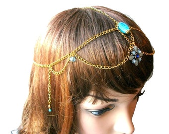 Headband Tiara Gold Tiara any Vétu style goddess