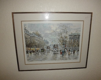 Litho Print by Antoine Boulet Signed and Numbered