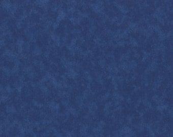 Keepsake Calico Fabric Blue Tonal Quilting Fabric By the Yard