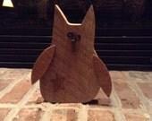Primitive Owl, Owl, Barnwood, Upcycled, Barn Owl, Shelf Sitter, Home Decor, Shabby Chic, Shelf Sitter