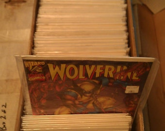 239 Wolverine Comic Books