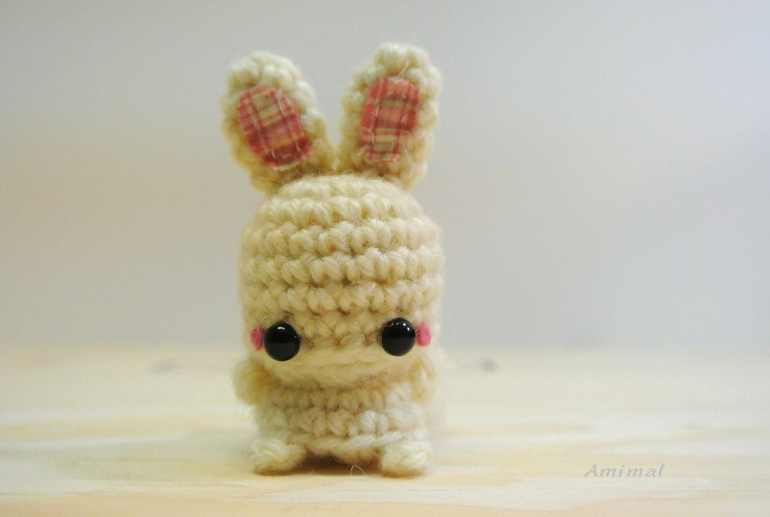 Amigurumi Mini Bunny by Amimal on Etsy
