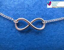 TFIOS unisex infinity chain anklet / bracelet / necklace