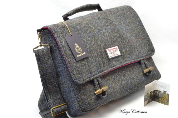 Mens Tweed Shoulder Bag 66
