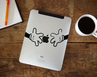 Hands iPad Decal