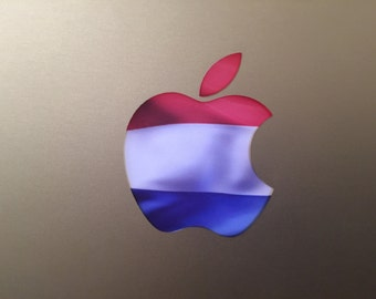 Holland / Netherlands / Dutch Flag MacBook Decal