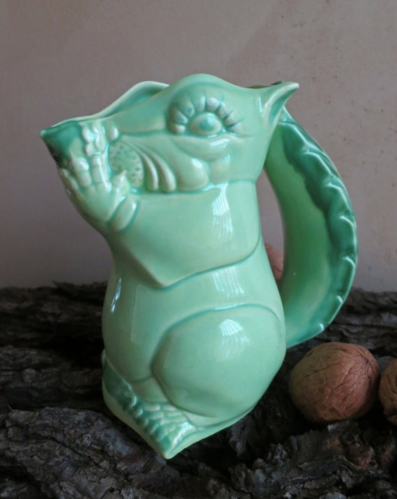 20 Off Kellems Pottery Squirrel Creamer Pitcher Ab07 Animal