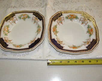 Royal Victoria Royal Semi Porcelain EnglandSet of 2 Salad Bowls