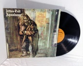 Jethro Tull vintage vinyl record - Aqualung LP album || 70's Classic Rock Progressive Rock