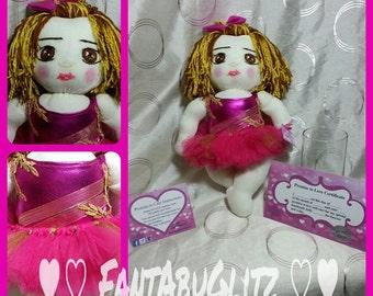 Personalized Gymnastics Doll