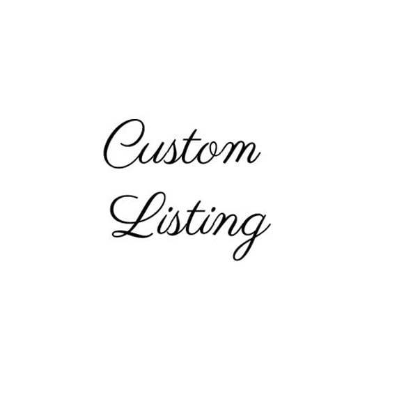 Custom logo simple calligraphy cursive font by