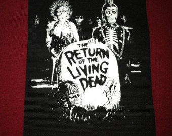 Return Of The Living Dead Cloth Punk Patch