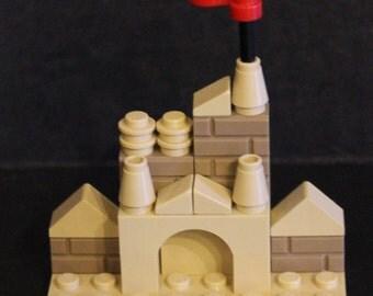 LEGO Miniature Sand Castle