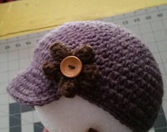 Newsies  Crochet Hat (1-2yrs)