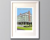 Personalised Custom Giclee Print, Bespoke Picture of Your Home, House, Special Place (Unframed)