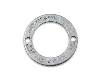 Antique Silver Connector Link 13mm 20 Pcs Per Pack
