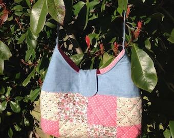 Floral Patchwork Shoulder Bag
