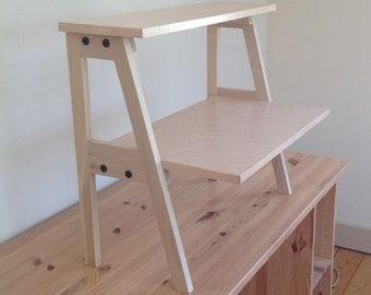 Standing Desk monitor/keyboard platform