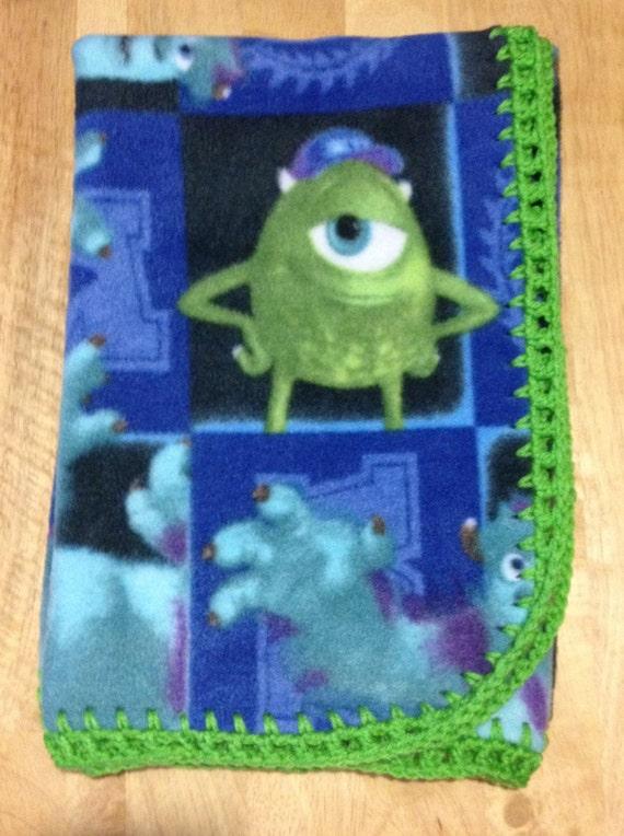 Mike & Sully Monster University Fleece Baby Monsters University Baby Sully