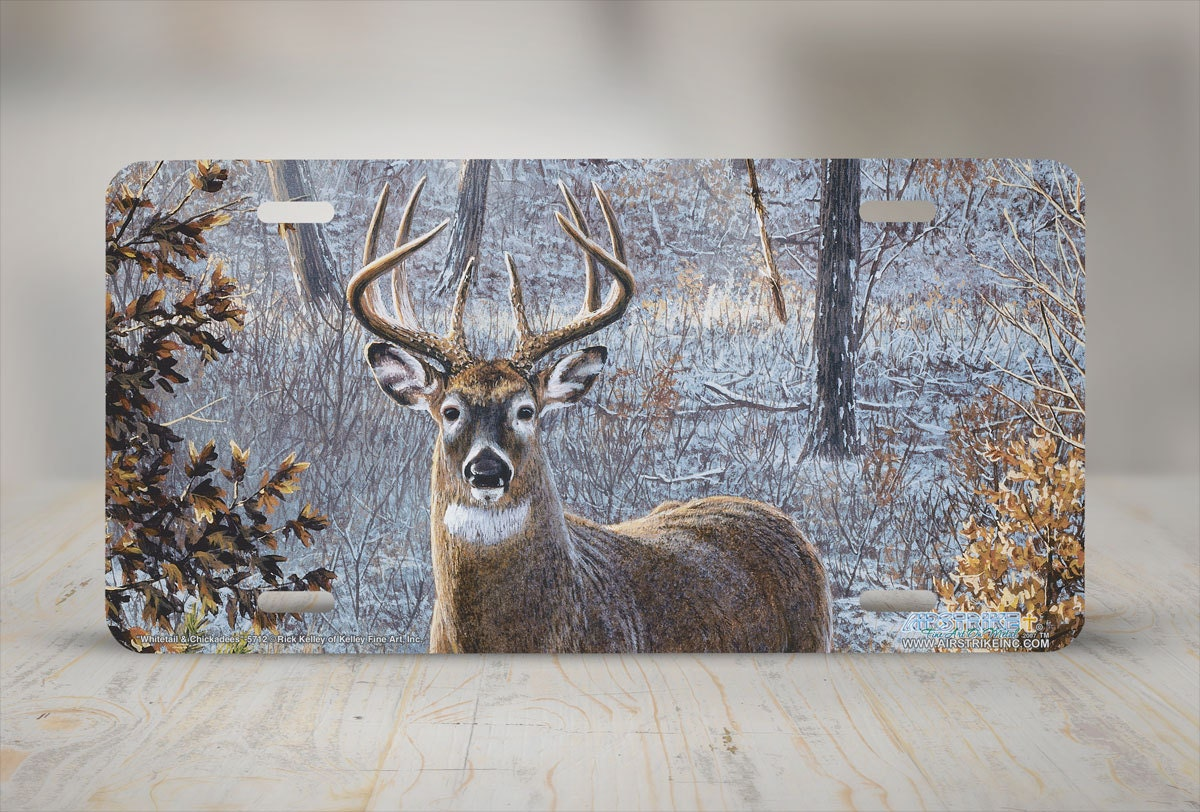 Customize Your Own Car >> Whitetail Deer License Plate Whitetail Deer Car Tag