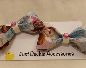 Frozen Duck Tape Bows, bobby pin set