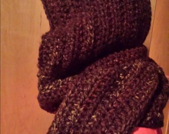 Cowl Hooded Scarf