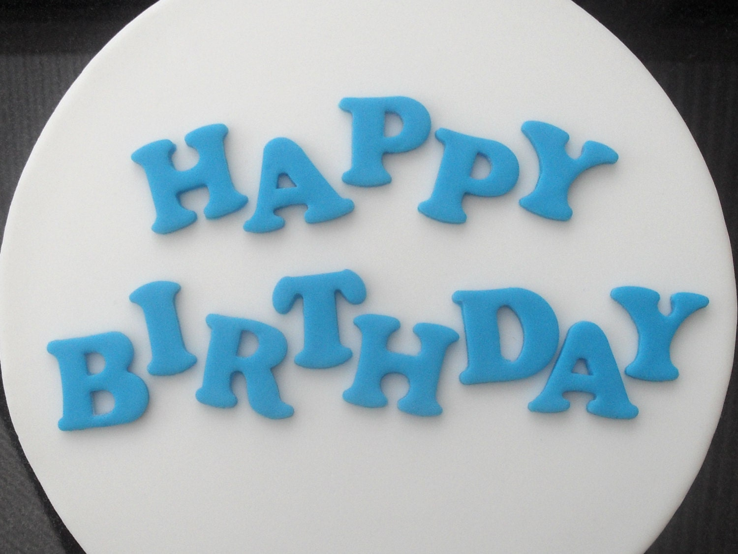 Edible Letters For Cakes Nz