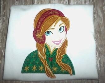 Girls Princess Anna Christmas Winter Frozen Boutique Birthday Party Princess! Sizes 2 ,3, 4, 5, 6, 7, 8