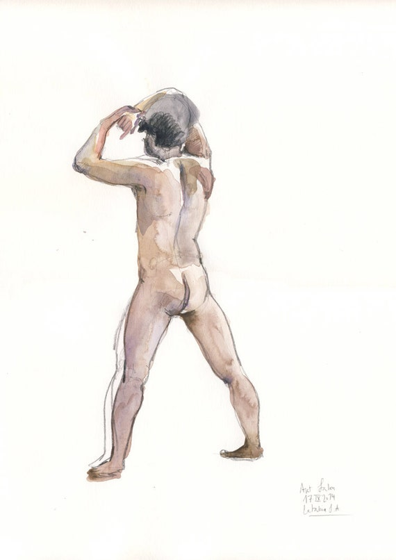 Afro Male Naked 80