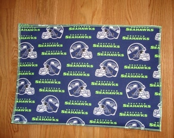 Seattle Seahawk Pet Food Mat